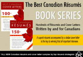 Best Canadian Resume Book Series